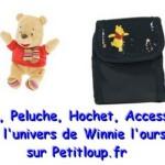 Cadeau doudou Winnie l'ourson pour bébé