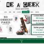 T-shirts pour hommes et femmes avec Be A Geek