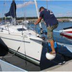 Pare-battage, des défenses indispensables pour bateau et voilier