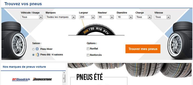 pneus auto discount